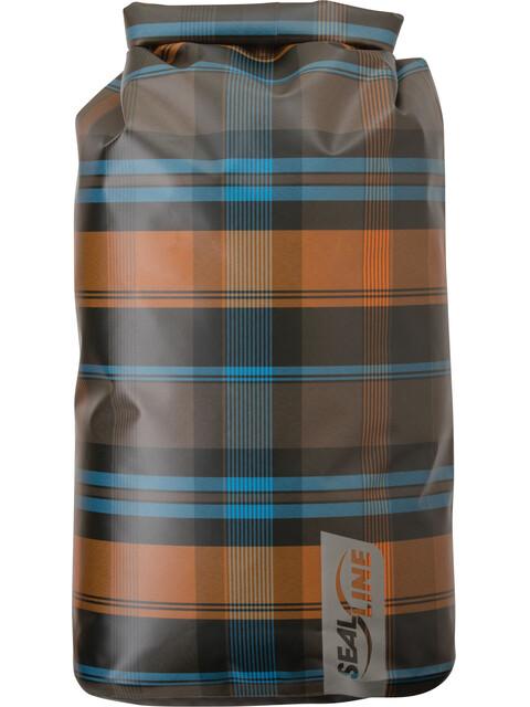 SealLine Discovery Dry Bag 30l olive plaid